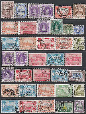 BURMA two scans stamp collection