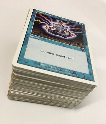 Magic The Gathering, Approx 132 Mixed Cards, 1990's