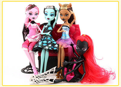 2017 Hot Kids Body Girls Monster Doll Elf Move Joints High Plastic Toys Gifts
