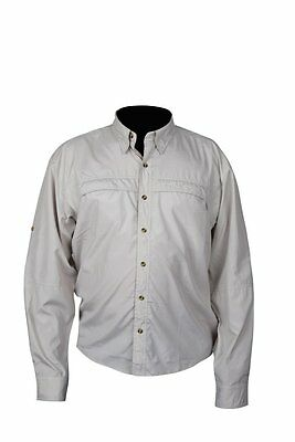 Greys Fishing/outdoor Shirt - Olive Size Small