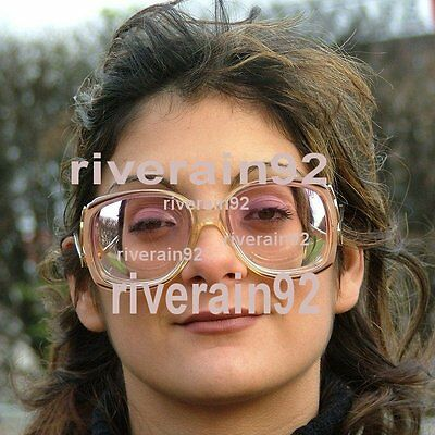 Vintage SOPHIA LOREN High Myopic Woman Glasses Very Thick Biconcave Lenses -15