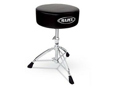 Mapex 500 Series Friction Clamp Round Drum Stool Throne
