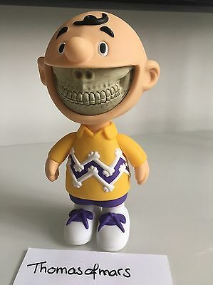 Charlie Grin Ron English LA Lakers Made by Monsters