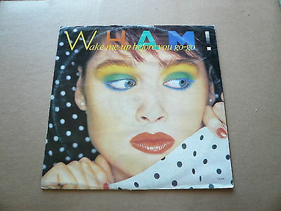 33 giri - Vinile - Wham! - Wake Me Up Before You Go Go