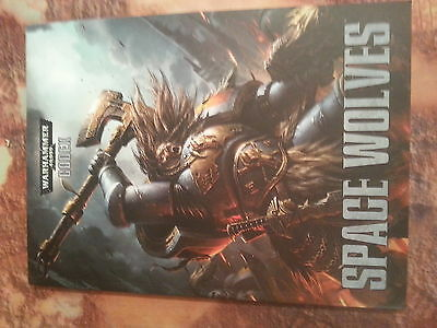 Warhammer 40K Space Wolves Codex - Softback - New
