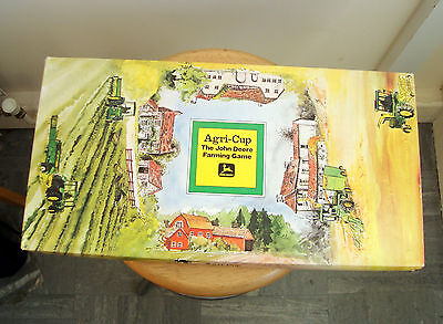 Rare John Deere Farming Board Game 1978 Farming Monopoly
