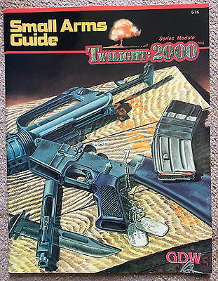 Twilight: 2000 Small Arms Guide book GDW Games Design Workshop (516)