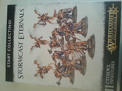 Warhammer Age Of Sigmar Start Collecting Stormcast Eternals - New & Sealed