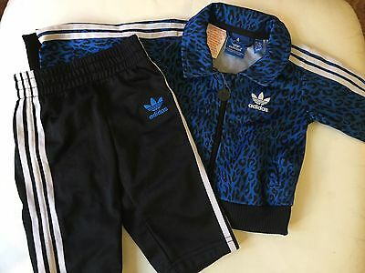 Baby Boys Adidas Tracksuit 3-6 Months *bargain*