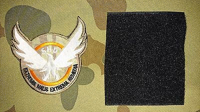 Brand New Division Shd Multicam Latin Tactical Morale Hook Loop Patch Aus Seller