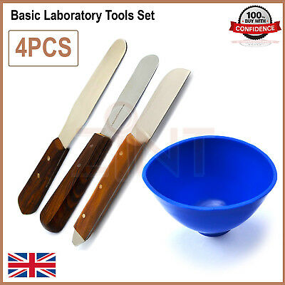 Laboratory Plaster And Alginate Wax Knife Plastic Mixing Bowl Mixing Lab Spatula