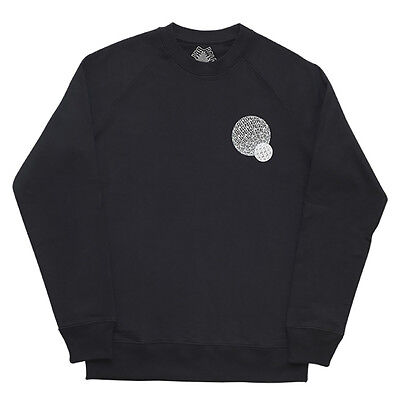 Palace Skateboards If You Aint There - Jumper Black Sweatshirt Small - New Rave