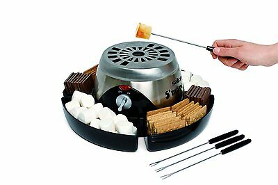 Salton SP1503 Electric S'More Maker, Stainless Steel