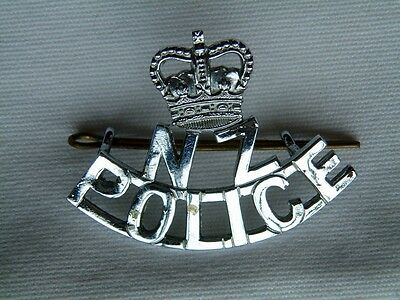 Obsolete New Zealand Police Old Hat Badge