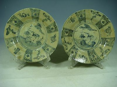 beautiful Chinese blue&white porcelain plates
