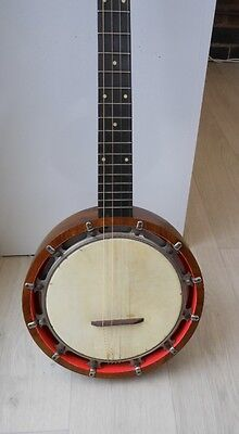 VINTAGE WINDSOR IDEAL NO. 9.BANJO 5 STRING WITH CASE circa 1930s