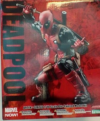 Deadpool (Marvel Now) Kotobukiya Artfx+ 1/10 Pvc  Figure