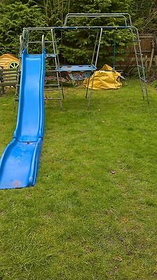 TP Climbing Frame includes Swing Rope and Slide with extension