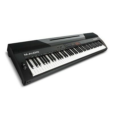 M-Audio Accent Full Size 88-Key Stage Studio Digital Piano Electronic Keyboard