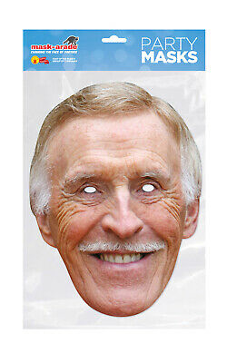 Bruce Forsyth Face Party Mask Card A4 Fancy Dress TV Presenter Ladies Men Kids