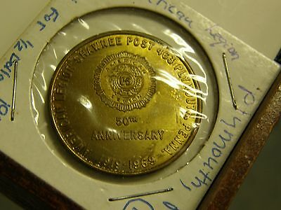 1969 American Legion Plymouth Pennsylvania Half Dollar Token