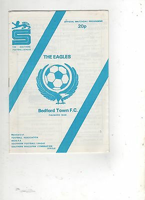 BEDFORD TOWN v WIMBLEDON (FA CUP--1st Round) 1981/82