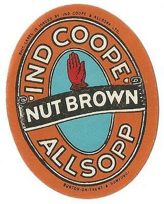 Ind Coope & Allsopp - Nut Brown (Half Pint) - 1940s - Mint Condition