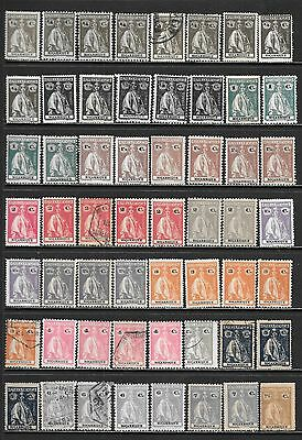 MOZAMBIQUE 1914-1926 CERES Mint & Used Issues Selection (Feb 0059)
