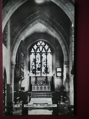 Postcard Rp Worcestershire Bredon - Chancel St Giles Church