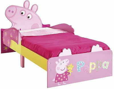 Worlds Apart Peppa Pig Snuggle Time Toddler Bed By HelloHome