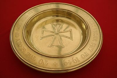 Brass Church Collection Plate