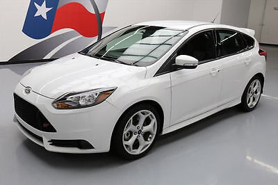 2014 Ford Focus  2014 FORD FOCUS ST ECOBOOST 6-SPEED SPOILER ALLOYS 28K #451408 Texas Direct Auto