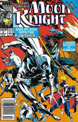 Punisher Marc Spector Moon Knight 9 Marvel 80's American Comic