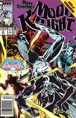 Punisher Marc Spector Moon Knight 8 Marvel 80's American Comic