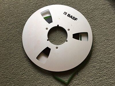 """A Single 10.5"""" Metal NAB Audio Tape Spool For Reel To Reel Tape Recorder"""