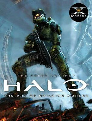 Halo: The Art of Building Worlds by Martin Robinson New Hardback Book