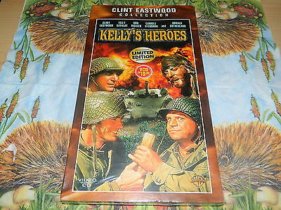 Kelly`s Heroes (Stoßtrupp Gold) -  Video CD`s - Clint Eastwood Collection - NEU
