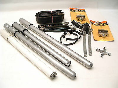 VINTAGE BICYCLE Selection Of Tyre Pumps, Brake Blocks, Tools & Clips *MUST SEE*