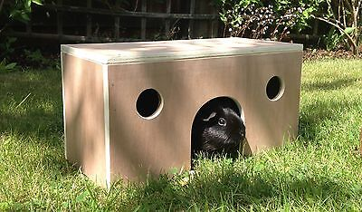 NEW Quality Guinea Pig Dwarf Rabbit Play Shelter Run House Indoor/Outdoor