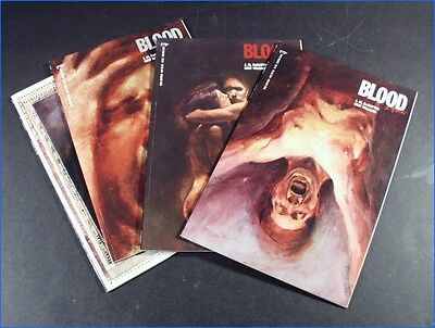 "1987 Marvel Epic Comics Complete Set ""blood: A Tale"", #1, #2, #3, And #4"
