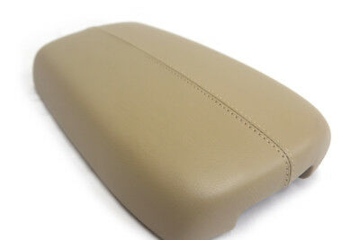 Center Console Armrest Leather Synthetic Cover for Kia Sorento 11-13 Beige
