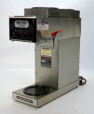 Bunn STF-15 Commercial Coffee Brewer Machine 12-Cup Automatic Pourover 3 Warmers