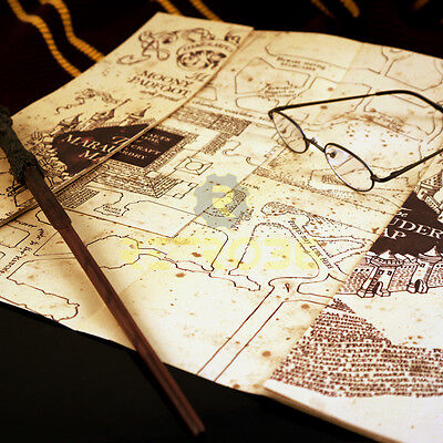 Harry Potter The Marauder's Map Officially Licensed by The Noble Collection NEW