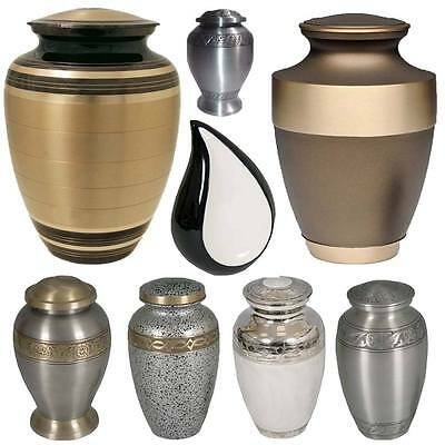Cremation Ashes Funeral Urns Pots  Memorial Tear Mini Grave Vases Keepsake Jar