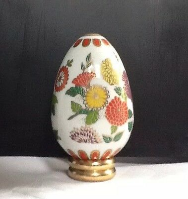 Franklin Mint Ornamental Satsuma Egg. Comes With Information Card