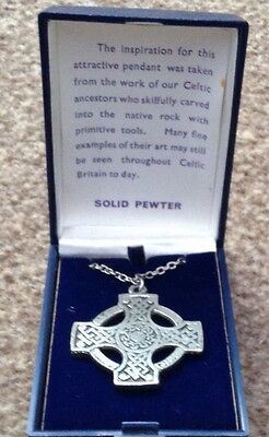 Pewter Pendant inspired by our Celtic ancestors.