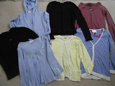 7 X Bundle Ladies Cardigans/jumpers/hoody - Size 6, 8/10, Xs Or Small