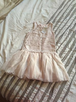 Girls Next Pink Tulle Party Prom Dress 7 Years New