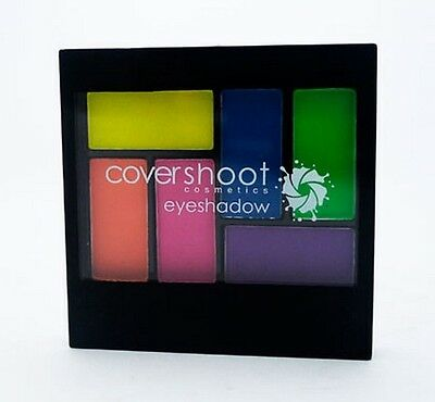 Covershoot Cosmetics Neon Eyeshadow Palette 6 Colour