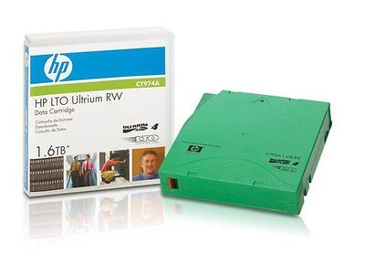 Data Cartridge Hp Lto-4 Ultrium Rw C7974A 1.6Tb Cartucho De Datos